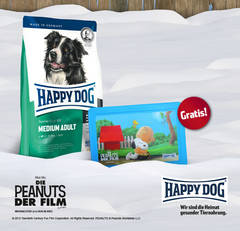 Happy Dog und Peanuts Aktion